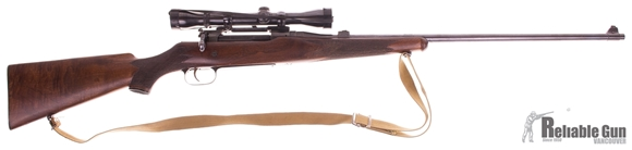 Picture of Used Ross M-10 Sporter Rifle, 280 Ross, Weaver K4 Scope, Crack in Rear of Stock Otherwise Very Good Condition
