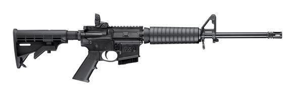 """Picture of Smith & Wesson M&P 15 Sport II Semi Auto Rifle - 5.56x45mm, 16"""", Standard Profile, Armornite Finish, M4 Stock & Handguard, Forward Assist & Dust Cover"""