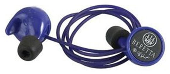 Picture of Beretta Mini Headset Hearing Protection - 25dB, Muti Size Eartips(S/M/L), Comes w/ Carry Case, Blue