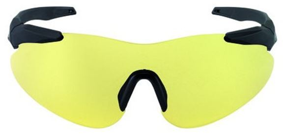 Picture of Beretta Challenge Shooting Glasses - Yellow Lense, Soft Grip Frame