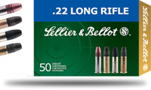 Picture of Sellier & Bellot Rimfire Ammo - 22 LR SB Standard, 22 LR, 40Gr, Lead, Standard Velocity, 5000rds Case, 1066fps (325m/s)