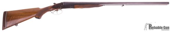 Picture of Used BRNO ZP-49, Side X Side 12-Gauge Shotgun, 28'' Barrel, Ejectors, Double Triggers, True Sidelock. Walnut Stock, Excellent Condition