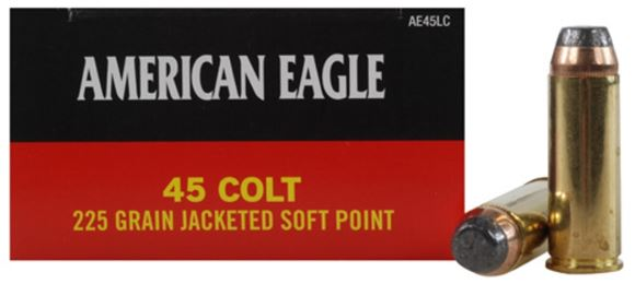 Picture of Federal Pistol Ammo - 45 Colt, 225gr, Jacketed Soft Point(JSP), 400rd Case