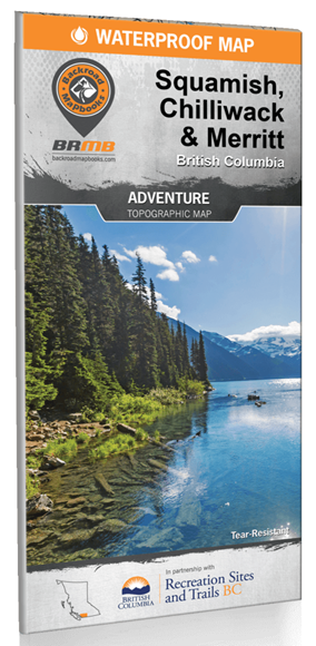 Picture of Backroad Mapbooks, Backroad Mapbook - British Columbia, Squamish, Chilliwack & Merritt, Western Canada, 1st Edition