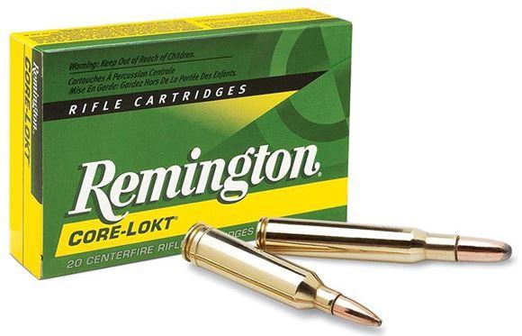 Picture of Remington Express Core-Lokt Rifle Ammunition - 7x64mm Brenneke, 140gr, Soft Point, 20rds box, 2950 fps