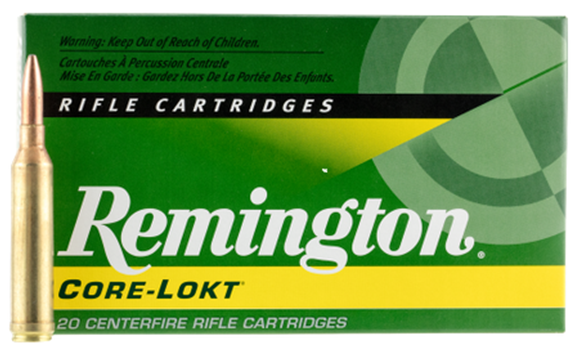 Picture of Remington Core-Lokt Centerfire Rifle Ammo - 264 Win Mag, 140Gr, Core-Lokt PSP, 20rds Box