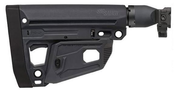 Picture of Sig MPX Folding StocK, MCX, MPX, Folding Telescoping, 1913 Interface, Black