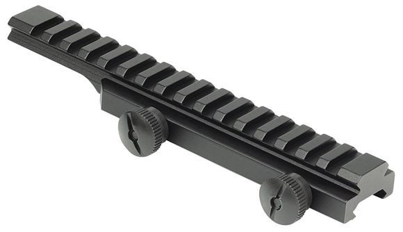 Picture of Weaver Tactical Scopemounts, AR-15 Flat Top Riser Rail - Picatinny Riser, With Thumb Nuts, Matte