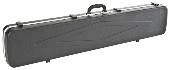 "Picture of Plano Gun Guard DLX Single Rifle Case - 48.25""x10""x4.5"", Black, Locking Latches w/ Key"