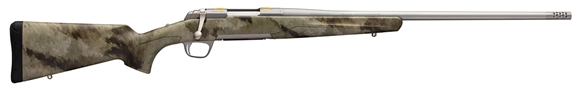 Picture of Browning X-Bolt Western Hunter - 7mm Rem Mag, 26'' Barrel, Stainless, A-TACS AU Dura Touch Stock, Muzzle Brake, Adjustable Trigger