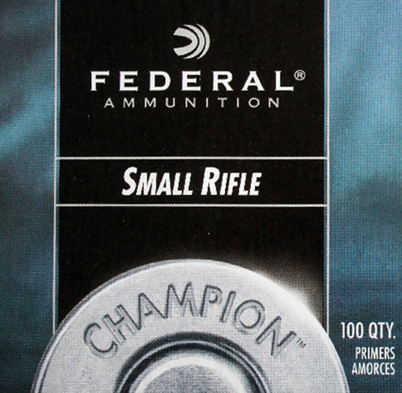 Picture of Federal Components, Federal Champion Centerfire Primers - No. 205, Small Rifle, 1000ct Brick