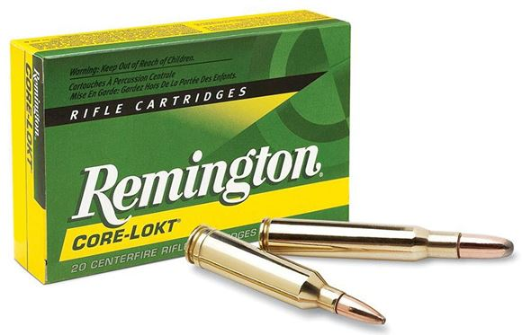 Picture of Remington Core-Lokt Centerfire Rifle Ammo - 300 RUM (Rem Ultra Mag), 180Gr, Core-Lokt, PSPCL, 20rds Box