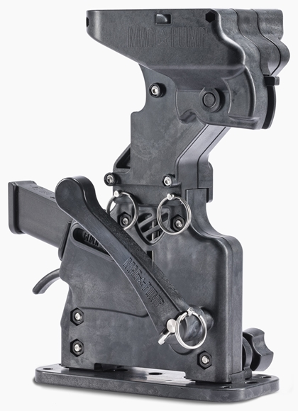 Picture of Mag Pump Magazine Loader - 9mm, Polymer Bench Hopper-Fed Magazine Loader, Works With Most Double Stack 9mm Magazines
