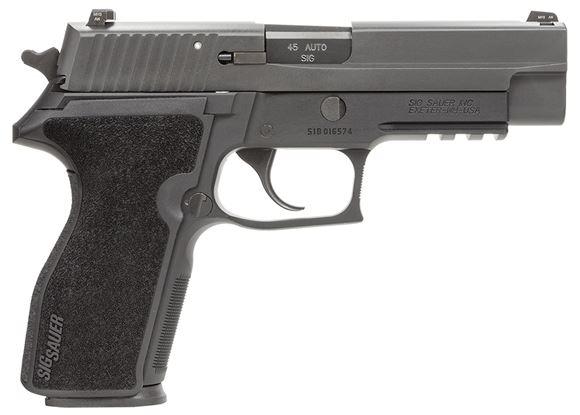 "Picture of SIG SAUER P227R Nitron DA/SA Action Semi-Auto Pistol - 45 ACP, 4.4"", Nitron, Black Hard Anodized,Rail, Polymer Grip, 2x10rds, Night Sights"