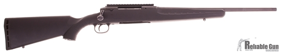 """Picture of Used Savage Arms Axis Series Axis Bolt Action Rifle - 308 Win, Barrel Shortened and Re-Crowned 19"""", Matte Black, Synthetic Stock, 4rds"""