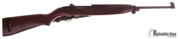 Picture of Used Ruger 10/22 M1 Carbine Semi Auto Rifle, .22 LR, M1 Carbine Wood Stock, 1 x10rd Mag, Green Military Sling, Very Good Condition