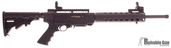 Picture of Used Ruger SR-22 Rifle, 22LR, Sights, Extendable Butt Stock, 1-10 Rnd Mag, Magpul MOE Vertcal Grip, TR3 Pic Rail, Originial Box, Manual, Tools, Lock, Very Good Condition