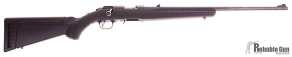 Picture of Used Ruger American Rimfire .22LR Bolt Action Rifle - Synthetic Stock, 1 Mag, Extra High Comb Cheekpiece