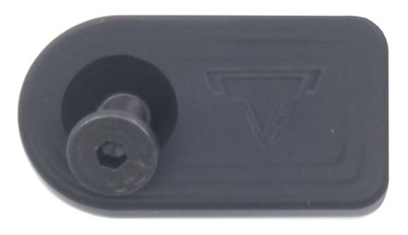 Picture of Taran Tactical Innovations Benelli TTI Custom Parts - TTI Oversized Bolt Release, Flat Black, Fits Benelli & Shotguns w/Similar Bolt Release Button 5/40 Thread