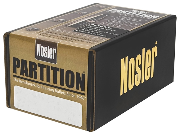 "Picture of Nosler Bullets, Partition - 30 Caliber (.308""), 220Gr, SSP, 50ct Box"