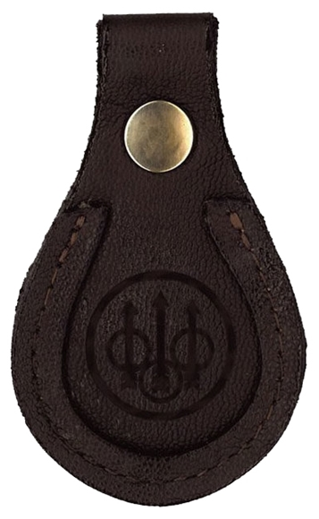 Picture of Beretta Barrel Rest/Toe Pad Tan 7mm Leather Embossed w/ Logo