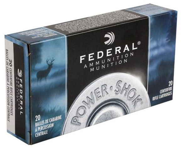 Picture of Federal Power-Shok 6.5x55 Swedish 140gr SP MollyC, SP Molly Coat, 200rd Case