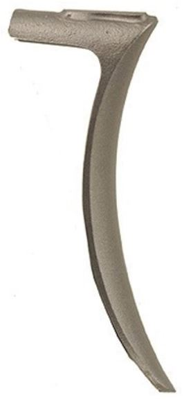 Picture of Precision Gun Works Crescent Buttplate Marlin 1888, 1889, 1891, 1892, 1893, 1894, 1895, 1897 Steel in the White