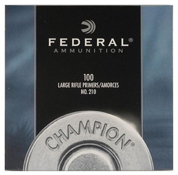 Picture of Federal Components, Champion Centerfire Primers - #210, Large Rifle Primers, 1000ct Brick
