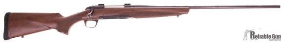 """Picture of Used Browning X-Bolt Hunter Bolt Action Rifle - 7mm Rem Mag, 26"""", Sporter Contour, Matte Blued, Walnut Stock, 1 Magazine, Weaver Bases, A Few marks in Stock, Good Condition"""