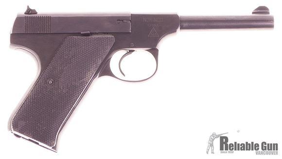 "Picture of Used Norinco M93 Woodsman Semi-Auto Rimfire Pistol - 22 LR, 4-1/4"", Blued, Plastic Grip, 2 Magazines Good Condition"