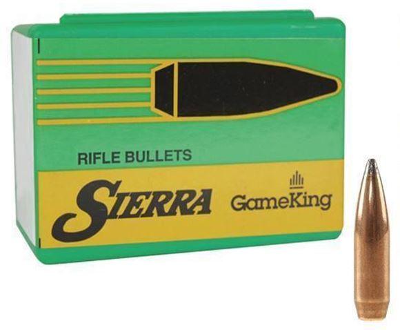 "Picture of Sierra Rifle Bullets, Gameking - 338 Caliber (.338""), 250Gr, SBT, 50ct Box"