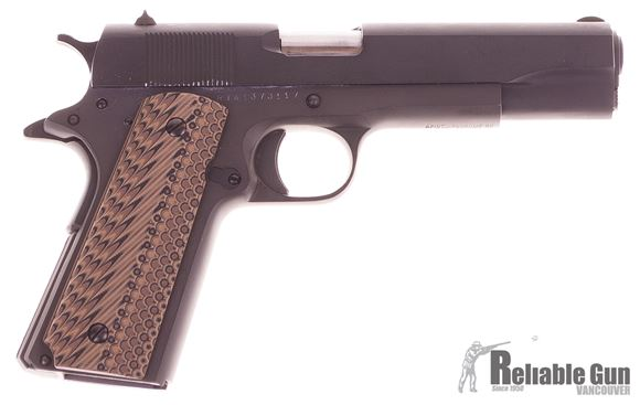 Picture of Used Rock Island Armory M1911-A1 FS Semi-Auto 9mm, GI Model, With G10 Grips & 2 Mags, Very Good Condition