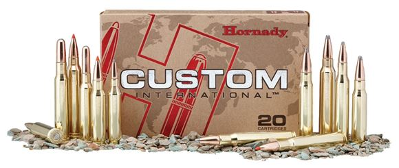 Picture of Hornady Custom Rifle Ammo - 308 Win, 220Gr, InterLock RN, 20rds Box