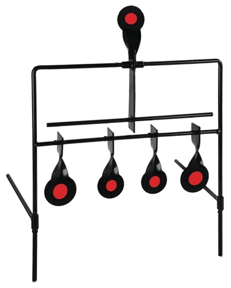 Picture of Allen Company Shooting Supplies - Rimfire Metal Resetting Silhouette Targets