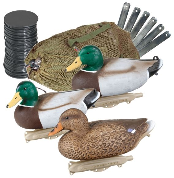 Picture of Flambeau Outdoors Hunting, Waterfowl, Duck Decoys - Classic Mallard Kit - 6 Pack