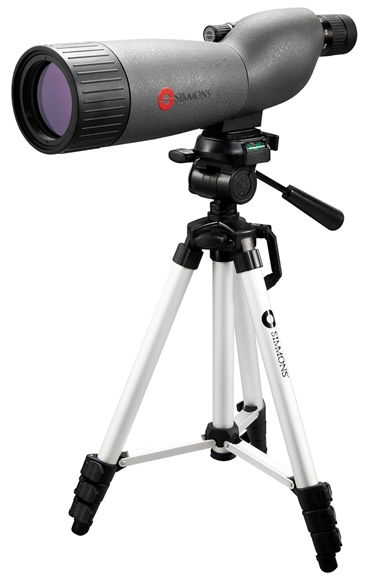 Picture of Simmons Prosport Spotting Scope - 20-60x60mm, Fully Multi-Coated, BK7 Prisms, Waterproof/Fogproof, w/AluminumTripod, Soft Case & Hardcase