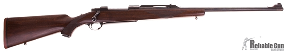 Picture of Used Ruger M77 Bolt Action Rifle, 300 Win Mag, Tang Safety, 24'' Barrel w/Sights, Walnut Stock, Good Condition