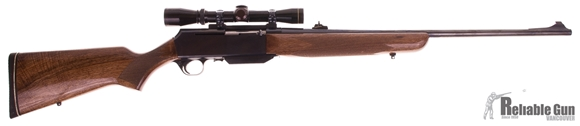 Picture of Used Browning BAR, Semi Auto Rifle, 300 Win Mag, Wood Stock, Leupold Vari-X II 2-7 Scope, 1 Magazine, Very Good Condition