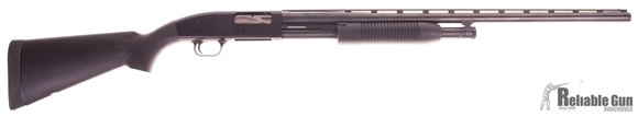 "Picture of Used Mossberg Maverick 88 Pump Action Shotgun 12 ga 28"" mod choke good condition"
