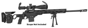 "Picture of Cadex Defense CDX-33 Patriot Rifle - 338 Lapua, 27"", 1-11.25"" Twist, Black, DX2 Double Stage Trigger, 5rds, 20MOA Rail, MX1 Muzzle Brake, Skeleton Buttstock, w/Bipod"