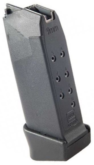 Picture of Glock Pistol Magazine - 9mm, 10rds, Packaged, For G26