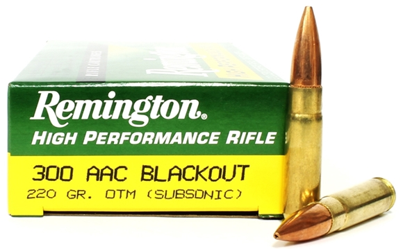 Picture of Remington Centerfire Rifle Ammo - 300 AAC Blackout, 220Gr, OTM, 200rds Case