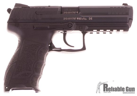 Picture of Used HK P30L Semi-Auto 9mm, With 2 Mags & Original Case, Very Good Condition