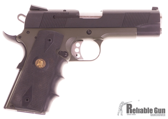 """Picture of Used Smith & Wesson PD1911 Semi-Auto 45 ACP, 4.5"""" Barrel, Two-Tone Gun Kote, With 4 Mags & Blackhawk Holster, Good Condition"""
