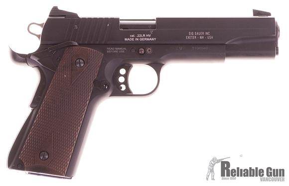 Picture of Used Sig Sauer 1911-22 Semi-Auto 22LR, With 2 Mags & Original Case, Very Good Condition