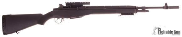 """Picture of Used Springfield M1A National Match Semi-Auto 308 Win, 22"""" Barrel, Synthetic Stock, Very Good Condition"""