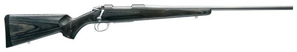 """Picture of Sako 85 Hunter Laminated Stainless (Grey Wolf) Bolt Action Rifle - 308 Win, 22-7/16"""", Stainless Steel, Cold Hammer Forged Light Hunting Contour Barrel, Grey Laminated Matte Oil Walnut Stock w/Palm Swell, 5rds, 2-4lb Adjustable Trigger"""