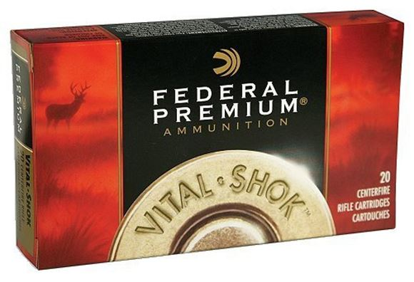Picture of Federal Premium Vital-Shok Rifle Ammo - 300 WSM, 180Gr, Nosler AccuBond, 20rds Box
