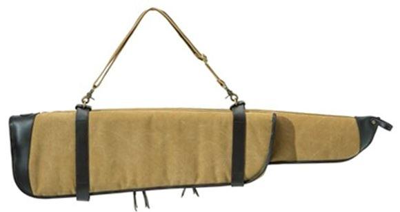 Picture of Beretta Terrain Takedown Gun Case - 90cm, 2 Piece, Brown / Beige, Cotton Canvas & Leather