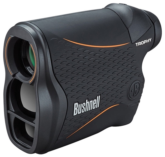 Picture of Bushnell Trophy Laser Rangefinder - 4x20mm, 850 yards, Vertical Black